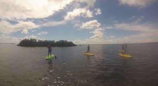 Stand-Up Paddle Boarding - Manatee Cove Park @ Merritt Island, Florida @ garzafx.com