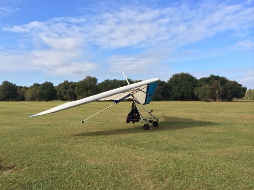 Tandem Hang-Gliding Flight @ Groveland, Florida, Revisited @ GarzaFX.com