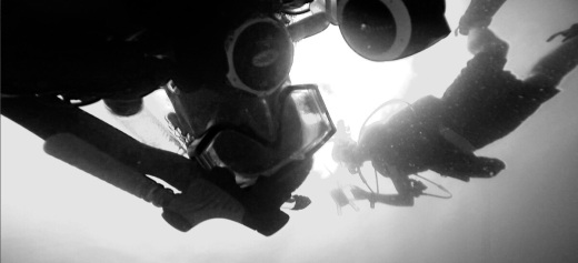 Adventure underwater in black and white @ Ft. Lauderdale, Florida 6.jpg