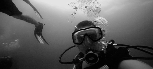 Adventure underwater in black and white @ Ft. Lauderdale, Florida 7.jpg